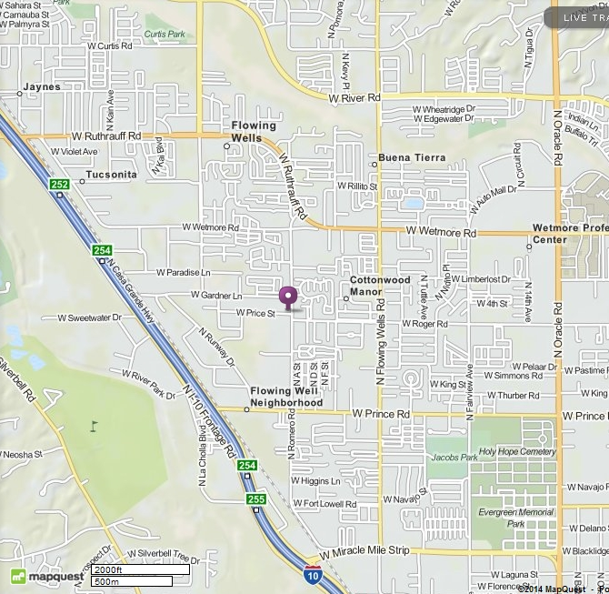 Click Map for MapQuest and directions